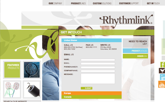 Rhythmlink - Columbia, South Carolina